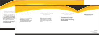 personnaliser modele de depliant 4 volets  8 pages  standard texture contexture MIF47268