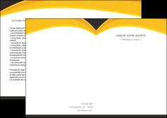modele en ligne depliant 2 volets  4 pages  standard texture contexture MIF47272
