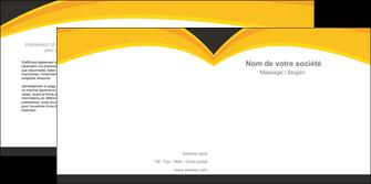 exemple depliant 2 volets  4 pages  standard texture contexture MIF47282