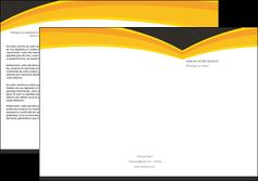 maquette en ligne a personnaliser depliant 3 volets  6 pages  standard texture contexture MIF47286
