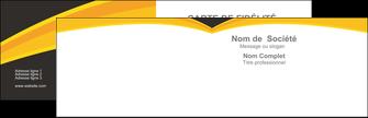 Commander Carte Pelliculage Mat Vernis sélectif brillant  Carte commerciale de fidélité modèle graphique pour devis d'imprimeur Carte de visite Double - Paysage