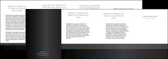 imprimer depliant 4 volets  8 pages  standard texture contexture MLGI47314