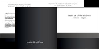 modele depliant 2 volets  4 pages  standard texture contexture MLGI47328