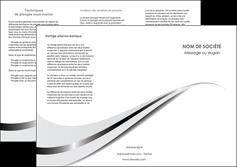 personnaliser maquette depliant 3 volets  6 pages  texture contexture structure MIF47516