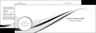 imprimerie depliant 2 volets  4 pages  texture contexture structure MIF47530