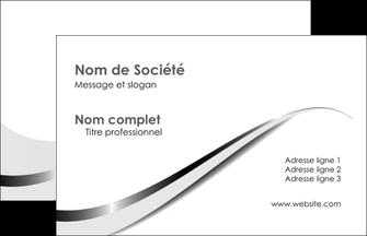 Commander carte de visite  Carte commerciale de fidélité modèle graphique pour devis d'imprimeur Carte de Visite - Paysage