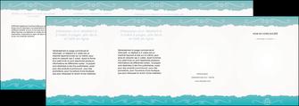 modele en ligne depliant 4 volets  8 pages  texture contexture structure MLGI47560