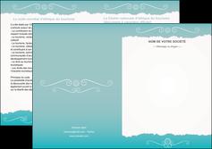 creer modele en ligne depliant 2 volets  4 pages  texture contexture structure MLGI47566