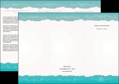 personnaliser modele de depliant 3 volets  6 pages  texture contexture structure MLGI47580