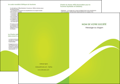 imprimer depliant 2 volets  4 pages  texture contexture structure MLIG47866
