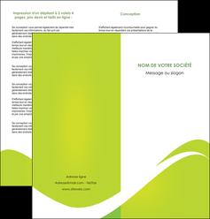 creer modele en ligne depliant 2 volets  4 pages  texture contexture structure MLIG47878