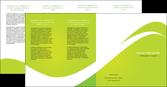 faire depliant 4 volets  8 pages  texture contexture structure MLGI47910