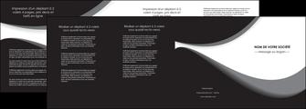 faire modele a imprimer depliant 4 volets  8 pages  texture contexture structure MIF47960