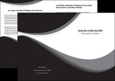 imprimerie depliant 2 volets  4 pages  texture contexture structure MIF47964
