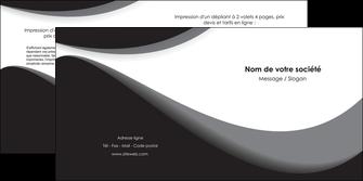 maquette en ligne a personnaliser depliant 2 volets  4 pages  texture contexture structure MLIG47974