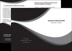 impression depliant 2 volets  4 pages  texture contexture structure MIF47998