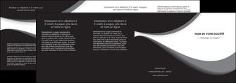 faire depliant 4 volets  8 pages  texture contexture structure MLIG48008