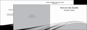 exemple depliant 2 volets  4 pages  texture contexture structure MLIG48012