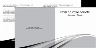 personnaliser modele de depliant 2 volets  4 pages  texture contexture structure MLIG48016