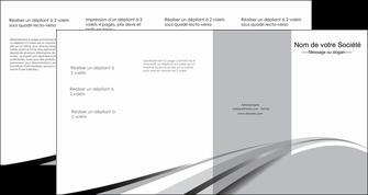 impression depliant 4 volets  8 pages  texture contexture structure MLIG48044