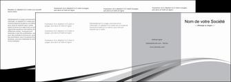 impression depliant 4 volets  8 pages  texture contexture structure MLIG48046