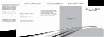 creer modele en ligne depliant 4 volets  8 pages  texture contexture structure MLIG48048