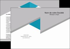 imprimerie depliant 2 volets  4 pages  texture contexture structure MIS48064