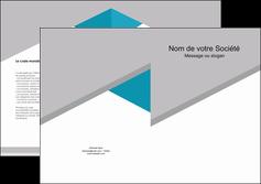 imprimer depliant 2 volets  4 pages  texture contexture structure MIS48068