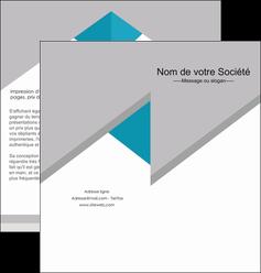 faire modele a imprimer depliant 2 volets  4 pages  texture contexture structure MIS48072