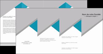 faire modele a imprimer depliant 4 volets  8 pages  texture contexture structure MIS48098