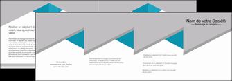 impression depliant 4 volets  8 pages  texture contexture structure MIS48100