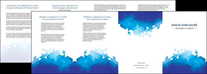creer modele en ligne depliant 4 volets  8 pages  texture contexture structure MLGI48188