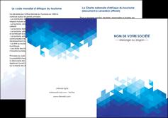 personnaliser maquette depliant 2 volets  4 pages  texture contexture structure MIF48192