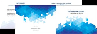 personnaliser modele de depliant 2 volets  4 pages  texture contexture structure MIF48214