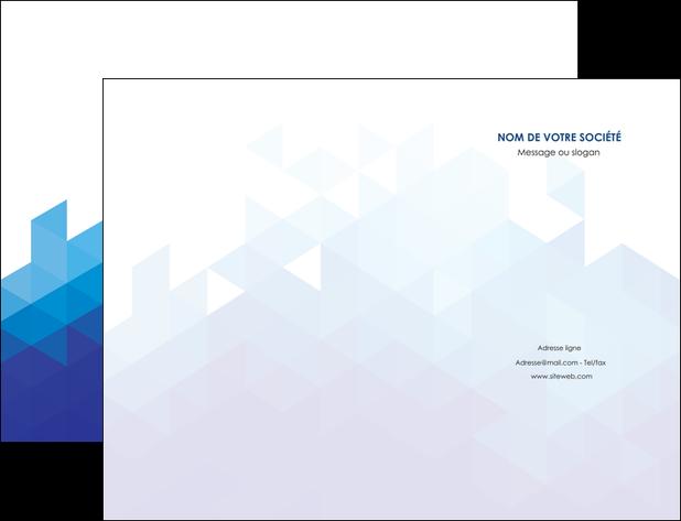 faire modele a imprimer pochette a rabat texture contexture structure MLGI48220