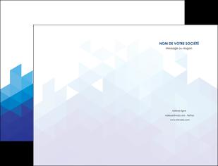 faire modele a imprimer pochette a rabat texture contexture structure MIF48220