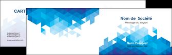 Impression Carte de visite avec logo entreprise ou société  Carte commerciale de fidélité papier à prix discount et format Carte de visite Double - Paysage