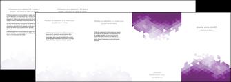 personnaliser maquette depliant 4 volets  8 pages  texture contexture structure MIF48370