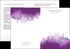 imprimer depliant 2 volets  4 pages  texture contexture structure MIF48374