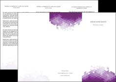 personnaliser maquette depliant 3 volets  6 pages  texture contexture structure MIF48388