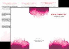 Impression imprimerie dépliant pizza  papier à prix discount et format Dépliant 6 pages Pli roulé DL - Portrait (10x21cm lorsque fermé)