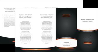 personnaliser maquette depliant 4 volets  8 pages  texture contexture structure MLIG49032
