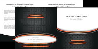 faire modele a imprimer depliant 2 volets  4 pages  texture contexture structure MLIG49048