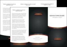 exemple depliant 3 volets  6 pages  texture contexture structure MLIG49052