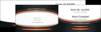 Impression carte de visite pelliculage mat  Carte commerciale de fidélité carte-de-visite-pelliculage-mat Carte de visite Double - Paysage