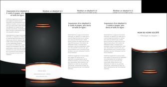 impression depliant 4 volets  8 pages  texture contexture structure MLIG49080