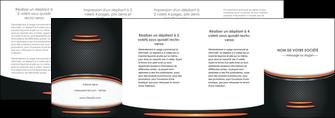 exemple depliant 4 volets  8 pages  texture contexture structure MLIG49082