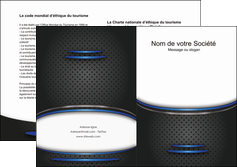 creation graphique en ligne depliant 2 volets  4 pages  texture contexture structure MIF49084