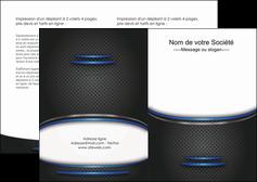 personnaliser maquette depliant 2 volets  4 pages  texture contexture structure MIF49086