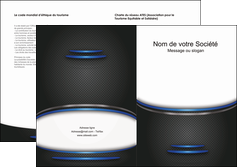 personnaliser maquette depliant 2 volets  4 pages  texture contexture structure MIF49088